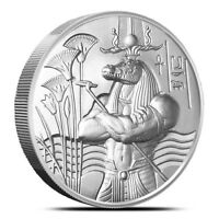 Egyptian Gods Series Sobek Ultra High Relief 2 oz .999 Silver BU Round USA Coin