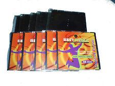 10 x Slimcase Leerhülle für CD / DVD leer Hülle für 1 Disc Box Best Media