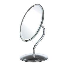 27Cm H Chrm Oval Swivel Table Mirror On Stnd (18X13Cm Mirr)