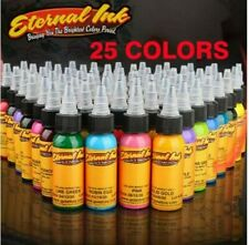 25Pcs Tattoo Eternal Tattoo Ink SET Colors Set 1oz 30ml Pigment HIGH QUALITY
