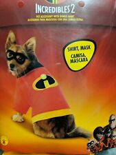 Disney Incredibles Dog Pet Costume Pet Halloween Dress Up Fun New Medium