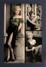 MARILYN MONROE DOORWAY 13x19 FRAMED GELCOAT POSTER ICONIC MODEL BEAUTY GIFT NEW!