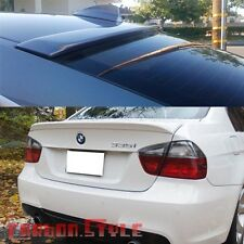 Painted BMW E90 A Roof Wing & 4D OE Trunk Boot Sedan Spoiler Rear 330I 323I M3