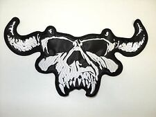 DANZIG SKULL      EMBROIDERED BACK PATCH