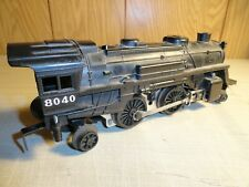 VINTAGE LIONEL # 8040 STEAM LOCOMOTIVE  TESTED RUNS IN VERY NICE PREOWNED COND.