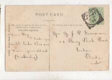Mr Reg Newman Bury Park Road Luton 1905 426b
