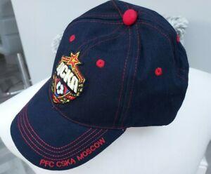 GENUINE CSKA MOSCOW BASEBALL CAP / BRAND NEW / ONE SIZE / LOVELY / NAVY
