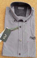NEW CALAMAR 109710 City Adventure Casual Fit Long Sleeve Shirt, Grey - M (39-40)