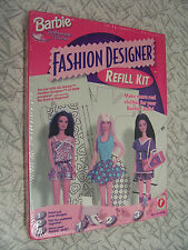 Barbie Fashion Designer Refill Kit 1997 No Sewing Required New Sealed