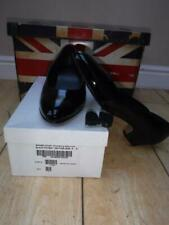 NEW ladies Army RAF NAVY RN Black court Shoes MESS dress patent leather size 6