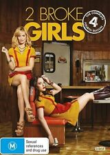 2 Broke Girls : Season 4 (DVD, 2015, 3-Disc Set)