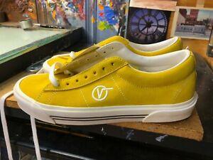 Vans Sid DX Anaheim Factory OG Yellow Suede  Size US 10.5 Men New