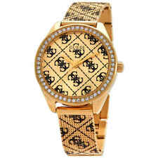 Guess Claudia Quartz Gold Dial Ladies Watch W1279L2