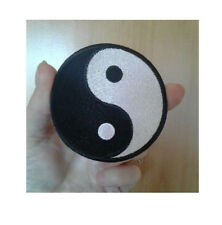 "Yin Yang - Martial Arts - Karate - Tai-Chi - Symbol - Iron On Patch - 3"" - W"