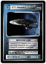 USS Enterprise-C : Star Trek Alternate Universe 1995 Rare CCG Card (C389A)