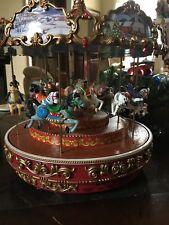Pre-Christmas Sale!! mr christmas Triple Dexker Holiday carousel