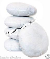 "5 Pc Lot Indian Round Floor Pillow Mandala Sham Inner 22"" Large Cushion Inserts"