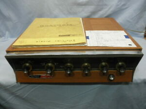 <>1960 HEATHKIT AA-100 Stereo Integrated 13 tube 50 Watt Amplifier–Serviced NR<>