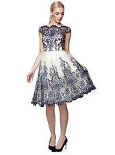 Exquisito Chichi de Londres Encaje Vestido Reino Unido 14 * * NUEVO con etiquetas!!!