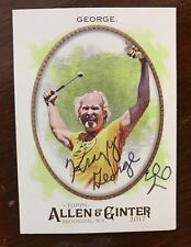 Signed Trading Card Krazy George Henderson Autographed Allen & Ginter 2017