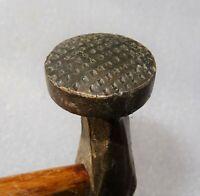 marteau à battre de cordonnier  - outil du cuir