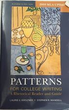 Patterns For College Writing by Laurie G Kirszner