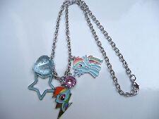 My Little Pony Rainbow Dash charm Necklace - Costume Jewellery