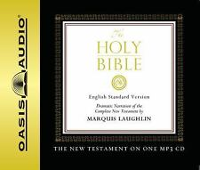 Holy Bible New Testament English Standard Version (2007, MP3 CD, Unabridged) NEW