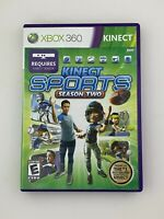 Kinect Sports: Season Two - Xbox 360 Game - Complete & Tested