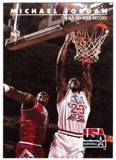 Michael Jordan Chicago Bulls NBA All-Star Record: SkyBox USA 1992/1993 #43 NRMT