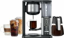 Ninja - 10-Cup Specialty Coffee Maker with Fold-Away Frother and Glass Carafe CM