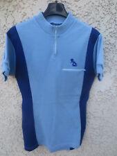 Maillot cycliste PEUGEOT ancien logo années 70 shirt trikot vintage maglia S
