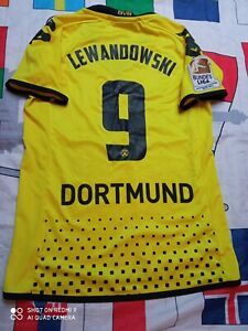 Trikot Bvb Borussia Dortmund Robert Lewandowski deutscher Meister patch Damen S