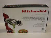 KitchenAid Spiralizer w/ Peel, Core, and Slice ~ Stand Mixer Attachment KSM1APC
