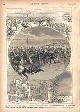 Traité de San Stefano Signature Grand-Duc Nicolas/Maison Arakel Bey GRAVURE 1878