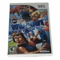Wipeout: The Game (Nintendo Wii, 2010) Complete w/Manual Tested Works