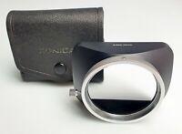 Konica Gegenlichtblende Metall Für 24 Und 28 MM