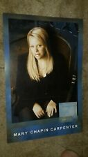 MARY-CHAPIN-CARPENTER-BETWEEN-HERE-AND-GONE-1 POSTER FLAT-12X18IN.-NMINT