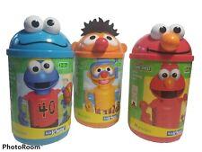 3- Sesame Street K'nex - Cookie Monster Ernie, Elmo