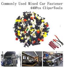 440Pcs Auto Car Door Bumper Rivet Retainer Fastener Clip Colorful+6Pcs Hand tool