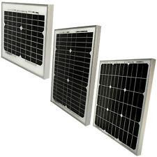 12V Monocrystalline Solar Panel Battery Charger for Smart Home, Light, RV, Boat