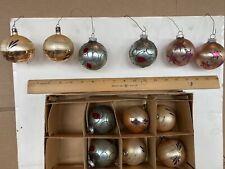 antique german glass christmas ornaments pre1946