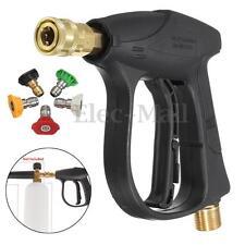 Car Motocycle 200BAR/3000PSI High Pressure Washer Wash Gun with 5 Nozzles