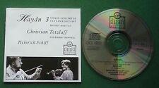 Haydn 3 Violin Concertos / Mozart Rondo Christian Tetzlaff (Violin) Schiff CD