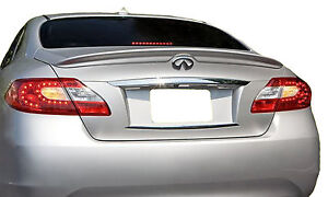 PAINTED SPOILER FOR AN INFINITI M37 / M56 FACTORY STYLE 2011-2013