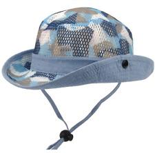 Big Kids Sun Hat Boy Full Net Breathable Summer Fisherman Cap