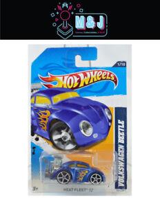 2011 Hot Wheels HEAT FLEET 12 Volkswagen Beetle 1/10- 151/247  (Aussie Seller)