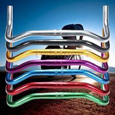 MTB HandleBars Retro Bullhorn Style Fixie/ Single Speed Road Track Bike Bars US