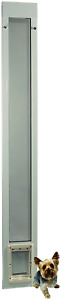 """Fast Fit Pet Patio Door 80"""" Small White"""