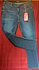 NWT Wrangler WRMC4HZ Horizon Western Skinny Straight Ankle Leg Jeans 10 X 28
